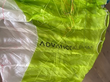 Vendre: Advance Alpha 6 11/2018
