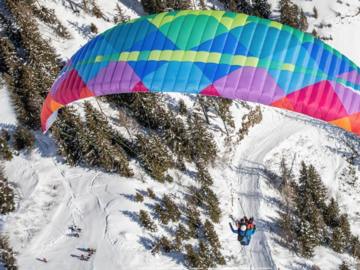For sale: Tandem Paraglider BGD Dual 2