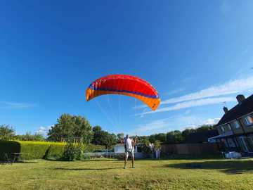 For sale: Speed Wing / Paraglider And Harness, 14m paratech P180
