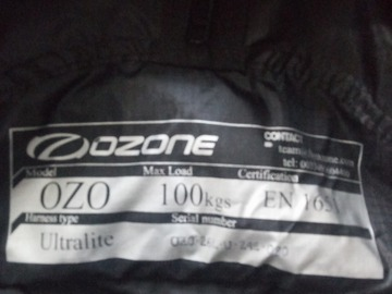 Vender: Paragliding harness